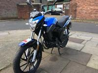 Lexmoto ZSA 125 2016 low miles for sale £850