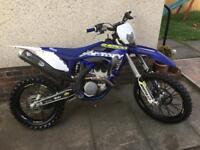 Sherco sef 300 motorbike