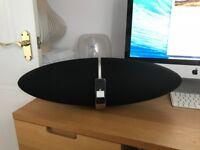 Bowers & Wilkins Zeppelin speaker and iPhone dock