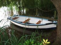 12 foot Heyland rowing boat /dinghy /fishing boat