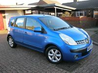 2007 NISSAN NOTE 1.4 SE, 5Dr, 12 MONTH MOT, 67K MILES. £1,650.ono (P/X WELCOME)