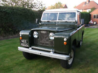 Land Rover Series 2a Diesel 1969 Tax Exempt