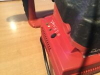 Hilti 24v cordless sds drill with faulty battery