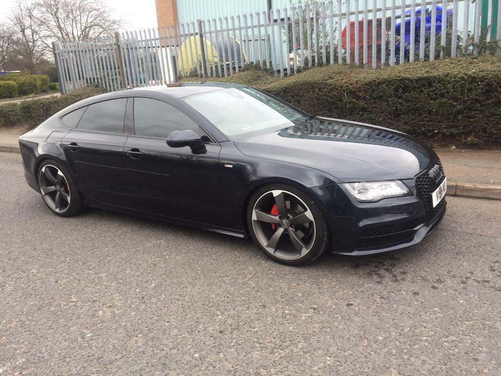 2011 audi a7 3 0 tdi s line black edition full history 16500 in erdington west midlands. Black Bedroom Furniture Sets. Home Design Ideas
