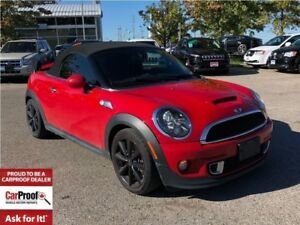 2013 MINI Cooper Roadster Cooper S**LEATHER HEATED SEATS**BLUETO