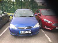 Vauxhall Corsa 2005-Automatic-Low mileage-1 year MOT-Excellent car