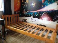 Pine Single Bed Frame.