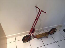 1970's Children's Scooter