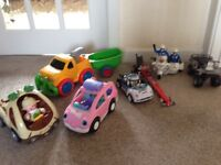 Bundle of cars and motorbikes