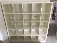 IKEA Expedit (now Kallax) Shelving Unit White 5x5