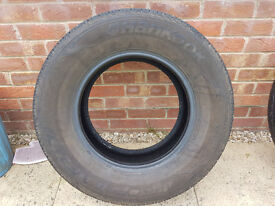 255/65x16 Hankook Dynapro HP2 tyre VGC ideal for Landrover Discovery