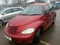CHRYSLER PT CRUISER 2003 REG LOW MILES 90K 11 MONTHS MOT