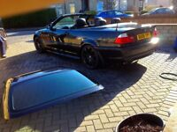 2006 BMW E46 318Ci Convertible Leather M Sport Black LOW MILEAGE!!!! Great Spec!!!