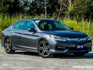 2016 Honda Accord Sedan L4 Touring 6MT - ACCIDENT FREE|DEMO|NAVI