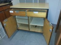 Lab cabinet on casters