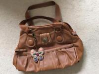 NICA Tan Handbag
