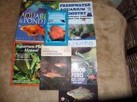 set 6 aquarium set up books