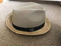 Accessorize trilby hat
