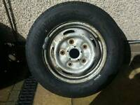 Transit wheel and brand new tyre