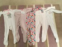 Sleepsuits 18-24 months excellent condition used pet free smoke free home