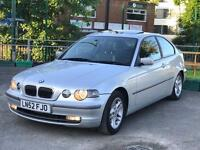 BMW 325TI COMPACT NO OF FORMER KEEPERS 1 Full service history ++ 12 months MOT