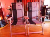 2 x Kampa chairs