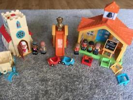 HappyLand Preschool and Church bundle.