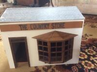 Vintage country store folks house garage toys