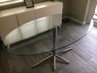 Dwell Glass Dining Table