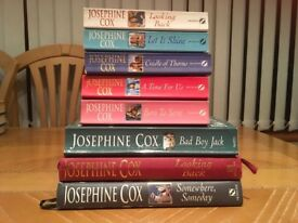 8 Josephine Cox novels/romance books