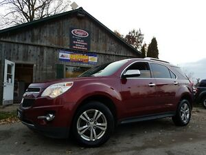 2010 Chevrolet Equinox LTZ 4cyl AWD, NAVIGATION, PWR Tailgate,Le