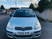 TOYOTA YARIS 2005 1.0L 80K MILES 12 MONTH MOT IDEAL FIRST CAR CHEAP TO INSURE