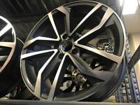 "4 18"" alloy wheels alloys rims tyre tyres vw Volkswagen seat Skoda audi 112 pcd"