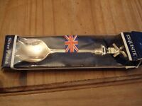 Exquisite Silver Plated Teaspoon with moving Windmill Sails