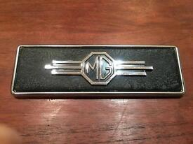 MG Badge Vintage