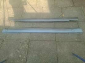 Mercedes W126 SEC side skirts