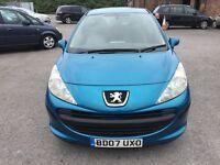 Peugeot 207 1.4 S 3dr 2007 (07 reg), Hatchback (30 days warranty) £1250