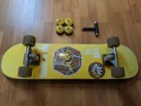 Skateboard full set up + free extras