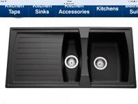 Brand new black Astini Sink 1.5 Bowls.