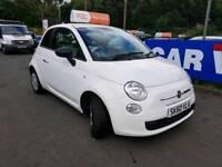 Fiat 500 2010, 1.2, Zero deposit finance, Warranty and MOT included.
