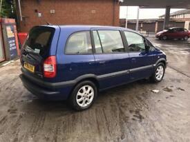 Vauxhall zafira very tidy quick sale