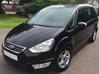 Ford Galaxy 2.0 Diesel 2011 (61 Plate) Black Automatic MPV - PCO Licensed for Uber/Private Hire