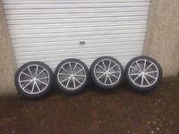 "18"" Audi RS4 Rims & Tires"