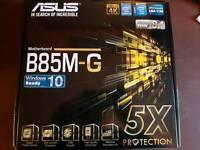 Asus B85M-G lga1150 motherboard