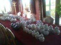 Hotelware plates, cups, saucers tea pots etc