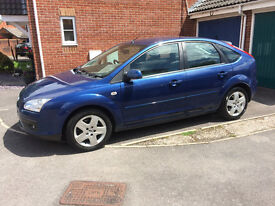 Ford Focus Diesel 2007 Manual Blue