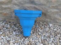 Blue Cast Iron Hopper