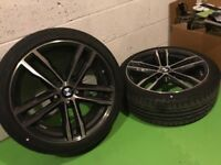 Genuine BMW 19 inch M Sport Wheels and Tyres