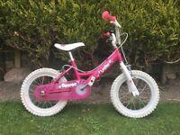 "Girls Dawes Lottie 14"" bike"