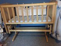 Mothercare Swinginf Crib